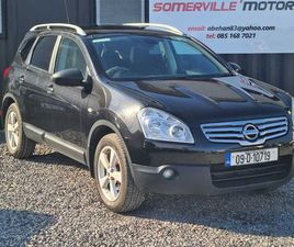 NISSAN QASHQAI +2, 2009 NCTED TAXED FOR SALE IN MEATH FOR €4,250 ON DONEDEAL