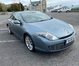 SWAP 09 LAGUNA COUPE 180HP CDTI NCT & TAX FOR SALE IN SLIGO FOR €3,450 ON DONEDEAL