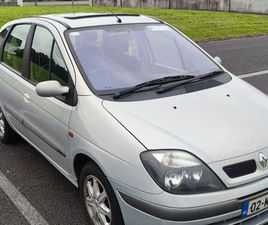 RENAULT MEGANE SCENIC 2002 1.4 L PETROL FOR SALE IN OFFALY FOR €450 ON DONEDEAL