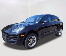 BLACK COLOR 2018 PORSCHE MACAN BASE FOR SALE IN ANNAPOLIS, MD 21409. VIN IS WP1AA2A57JLB10