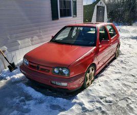 1995 MK3 GOLF VR6   CLASSIC CARS   FREDERICTON   KIJIJI