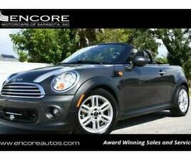 2012 MINI ROADSTER W/COLD WEATHER PACKAGE