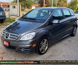 USED 2011 MERCEDES-BENZ B-CLASS B 200 TURBO|LOW KM|NO ACCIDENT|SUNROOF|CERTIFIED