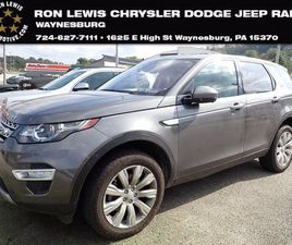 USED 2018 LAND ROVER DISCOVERY SPORT HSE LUXURY