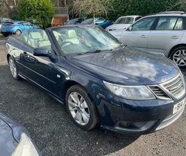 DIRECT FROM THE MAIN AGENT SAAB 9-3 1.9 TID 150 VECTOR SPORT AUTO 2DR CABRIOLET