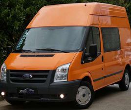 FORD TRANSIT 2.2 TDCI - UTILITAIRE - DOUBLE CABINE - 6PLACES !!