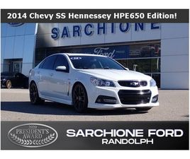 2014 CHEVROLET SS HENNESSEY HPE 650