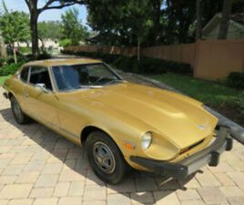 1975 DATSUN 280Z 2.8L FUEL INJECTED AUTOMATIC A/C