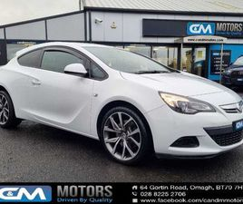VAUXHALL ASTRA GTC 1.7 CDTI 16V ECOFLEX 110 SPORT FOR SALE IN TYRONE FOR £6,295 ON DONEDEA
