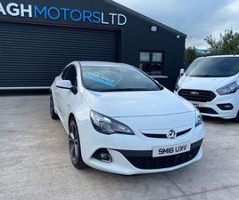 VAUXHALL ASTRA GTC FOR SALE IN TYRONE FOR £7,295 ON DONEDEAL