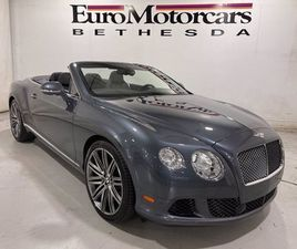USED 2014 BENTLEY CONTINENTAL GTC SPEED