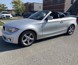2012 BMW 1 SERIES 128I CABRIOLET