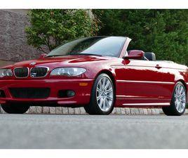 NO RESERVE: 44K-MILE 2004 BMW 330CI ZHP CONVERTIBLE