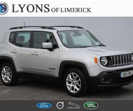 JEEP RENEGADE 1.6 MJET 120HP LONGIT FOR SALE IN LIMERICK FOR €24,950 ON DONEDEAL