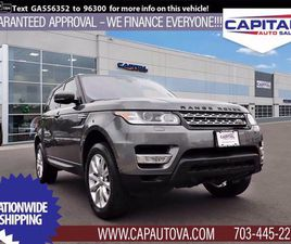 USED 2016 LAND ROVER RANGE ROVER SPORT HSE