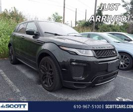 USED 2016 LAND ROVER RANGE ROVER EVOQUE HSE DYNAMIC