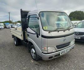 2006 TOYOTA DYNA 350 FLATBED DROPSIDE CHASSIS CAB DIESEL MANUAL