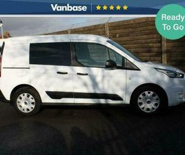 2019 FORD TRANSIT CONNECT 1.0 ECOBOOST 100PS TREND DOUBLE CAB SHORT WHEELBASE L1