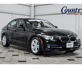 BLACK COLOR 2016 BMW 3 SERIES 328I XDRIVE FOR SALE IN LEESBURG, VA 20176. VIN IS WBA8E3C57