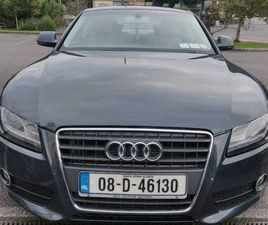 AUDI A5 2.7 TDI AUTOMATIC 190BHP NEW NCT CHEAP TAX FOR SALE IN CORK FOR €5,600 ON DONEDEAL