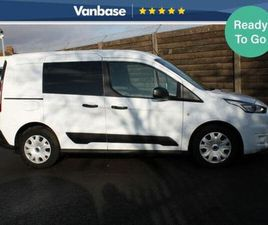 2019 FORD TRANSIT CONNECT 1.0 ECOBOOST L1 220 TREND DOUBLE CAB-IN-VAN - £18,433 +VAT