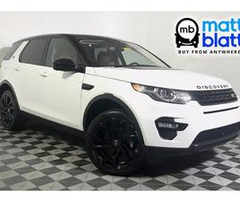 USED 2016 LAND ROVER DISCOVERY SPORT HSE LUXURY