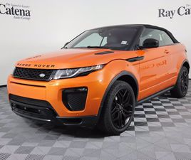 CERTIFIED 2017 LAND ROVER RANGE ROVER EVOQUE HSE DYNAMIC