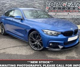 USED 2016 BMW 4 SERIES 2.0 420D M SPORT GRAN COUPE AUTO 188 BHP COUPE 82,000 MILES IN BLUE