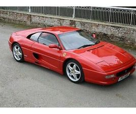1996 FERRARI F355 BERLINETTA WITH DESIRABLE 6-SPEED GATED MANUAL GEARBOX AND RHD