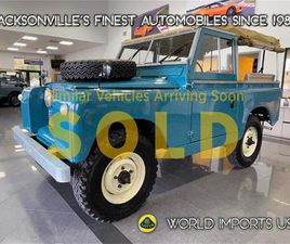 FOR SALE: 1967 LAND ROVER SERIES II IN JACKSONVILLE, FLORIDA