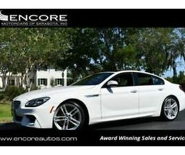 2016 BMW 6-SERIES 650I GRAN COUPE W/EXECUTIVE AND M SPORT PACKAGES