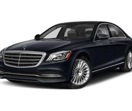 BLACK COLOR 2020 MERCEDES-BENZ S-CLASS S 560 4MATIC FOR SALE IN MORRISTOWN, NJ 07960. VIN