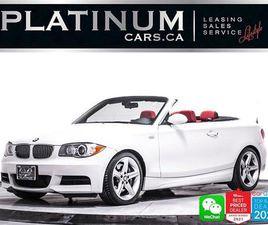 USED 2008 BMW 1 SERIES 135I, 300HP, HEATED SEATS, PREMIUM PACKAGE,
