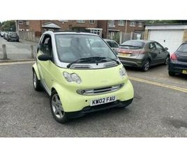 2002 CONVERTIBLE SMART CAR
