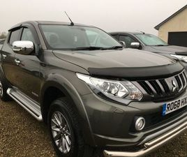 2018 MITSUBISHI L200 2.4 DI-D 178 WARRIOR 4WD CREW FOR SALE IN TYRONE FOR £18,500 ON DONED