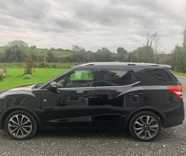 SSANGYONG TIVOLI XLV ELX 1597CC TURBO DIESEL AUTO FOR SALE IN MONAGHAN FOR £11,750 ON DONE
