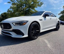 WHITE COLOR 2019 MERCEDES-BENZ AMG GT 53 4MATIC FOR SALE IN RALEIGH, NC 27616. VIN IS WDD7