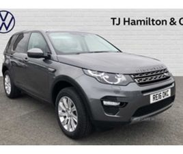 USED 2016 LAND ROVER DISCOVERY SPORT 2.0 TD4 (180PS) 4X4 SE TECH (7STS) ESTATE 83,000 MILE