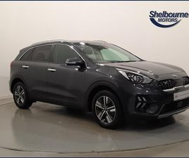 USED 2020 KIA NIRO 1.6 GDI HYBRID 2 5DR DCT NOT SPECIFIED 6,581 MILES IN GREY FOR SALE | C