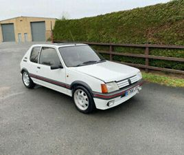 1988 PEUGEOT 205 1.9 GTI 3 DOOR RARE CLASSIC WITH GREAT HISTORY