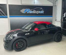 2015/65 MINI JCW WORKS COUPE / ROADSTER + 211BHP + CHILLI PACK + LEATHER + NAV
