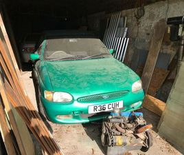 PRIVATE PLATE, FORD, CALYPSO, ESCORT, CONVERTIBLE, 1997, MANUAL, 1597 CC, OFFERS OVER 1500