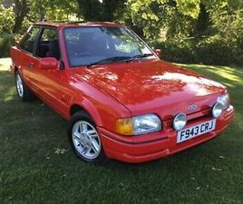 FORD ESCORT XR3I EXCELLENT CONDITION