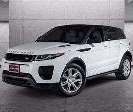 CERTIFIED 2018 LAND ROVER RANGE ROVER EVOQUE HSE DYNAMIC