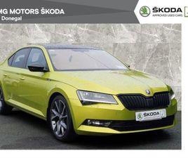 SKODA SUPERB 2.0 TDI SPORTLINE 190PS FOR SALE IN DONEGAL FOR €31,900 ON DONEDEAL