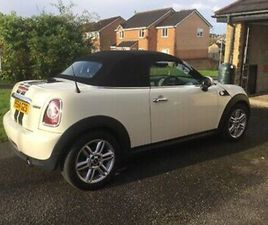 MINI ROADSTER 1.6 COOPER AUTOMATIC 1.6 LOW MILES .2 OWNERS EXCELLENT. 2014