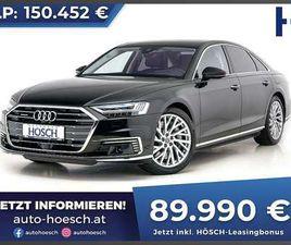 AUDI A8 LIMOUSINE IN SCHWARZ ALS GEBRAUCHTWAGEN IN TRIBUSWINKEL FÜR € 93.490,-