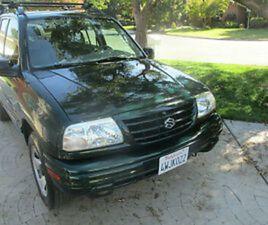 2002 SUZUKI VITARA JLX HARDTOP 4X4 SUV