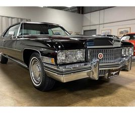 1973 CADILLAC COUPE DEVILLE COUPE