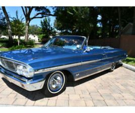 1964 FORD GALAXIE 500 XL CONVERTIBLE 390CI V8 AUTO A/C POWER STEERING & BRAKES